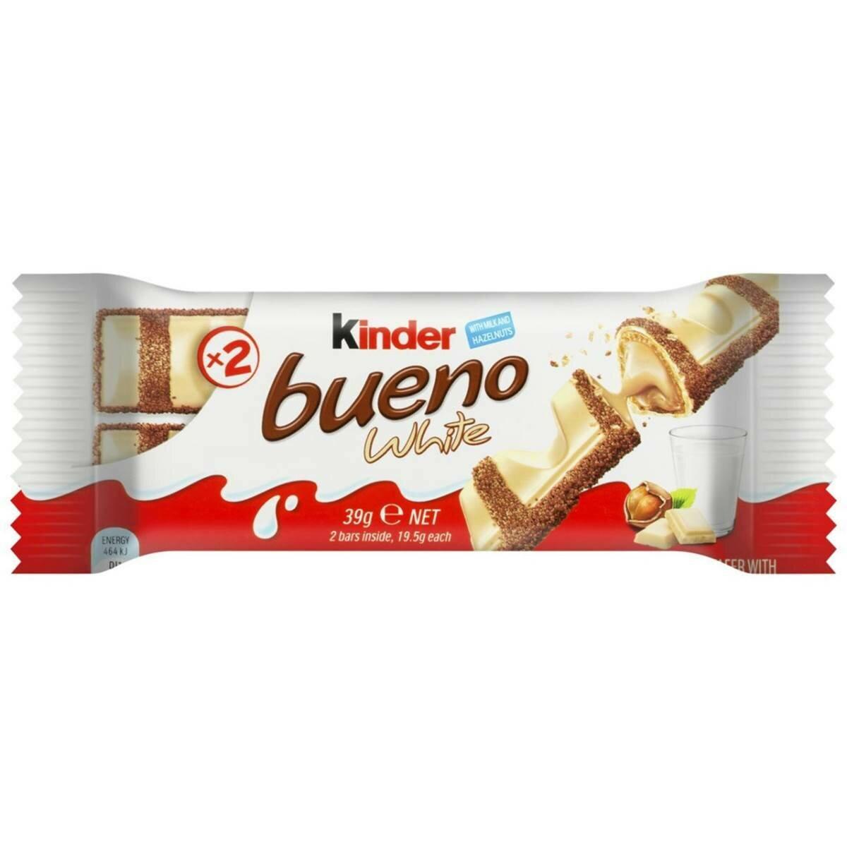 Kinder Bueno White 43G
