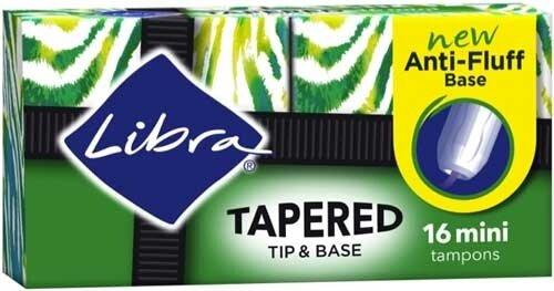 Libra Mini Tampons 16pk