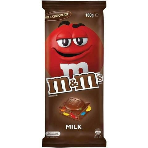 M&M's Milk Chocolate 160G