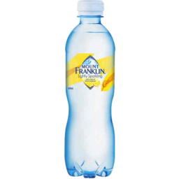 Mount Franklin Sparkling Lemon 450ML