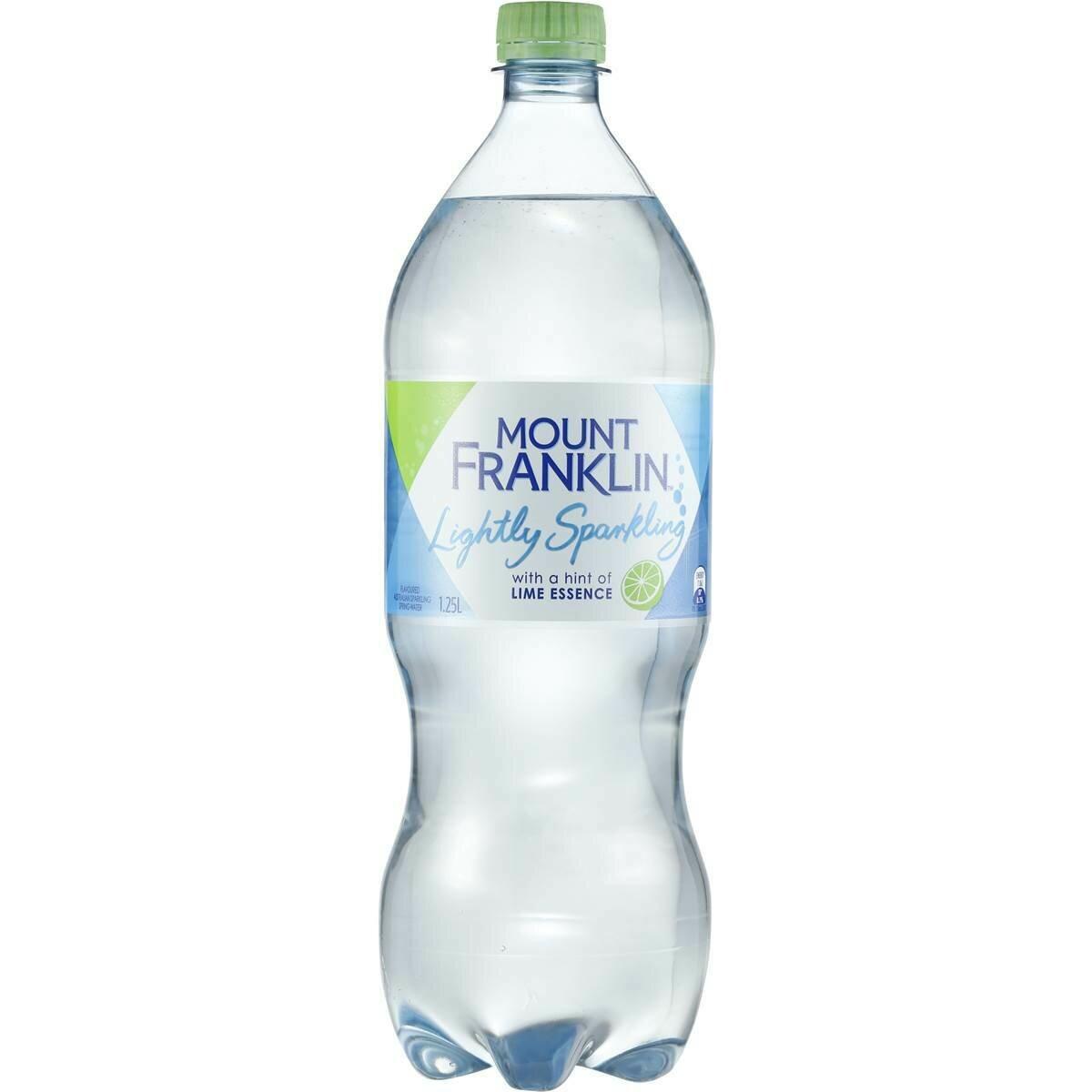 Mount Franklin Sparkling Lime 1.25L