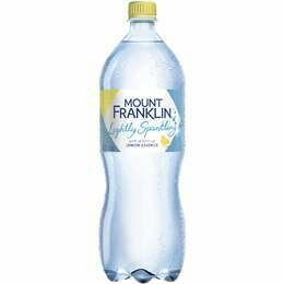 Mount Franklin Sparkling Lemon 1.25L
