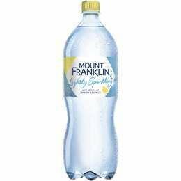 Mount Franklin Sparkling Lemon 1.25L