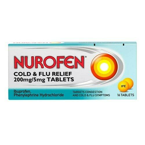 Nurofen Cold & Flu PE 12 Tablets
