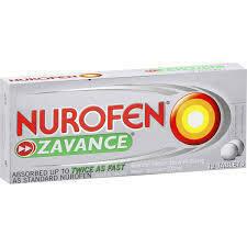 Nurofen Zavance Caplets 24pk