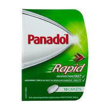 Panadol Rapid Caplets 10pk