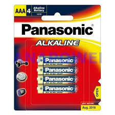 Panasonic AAA 4pk