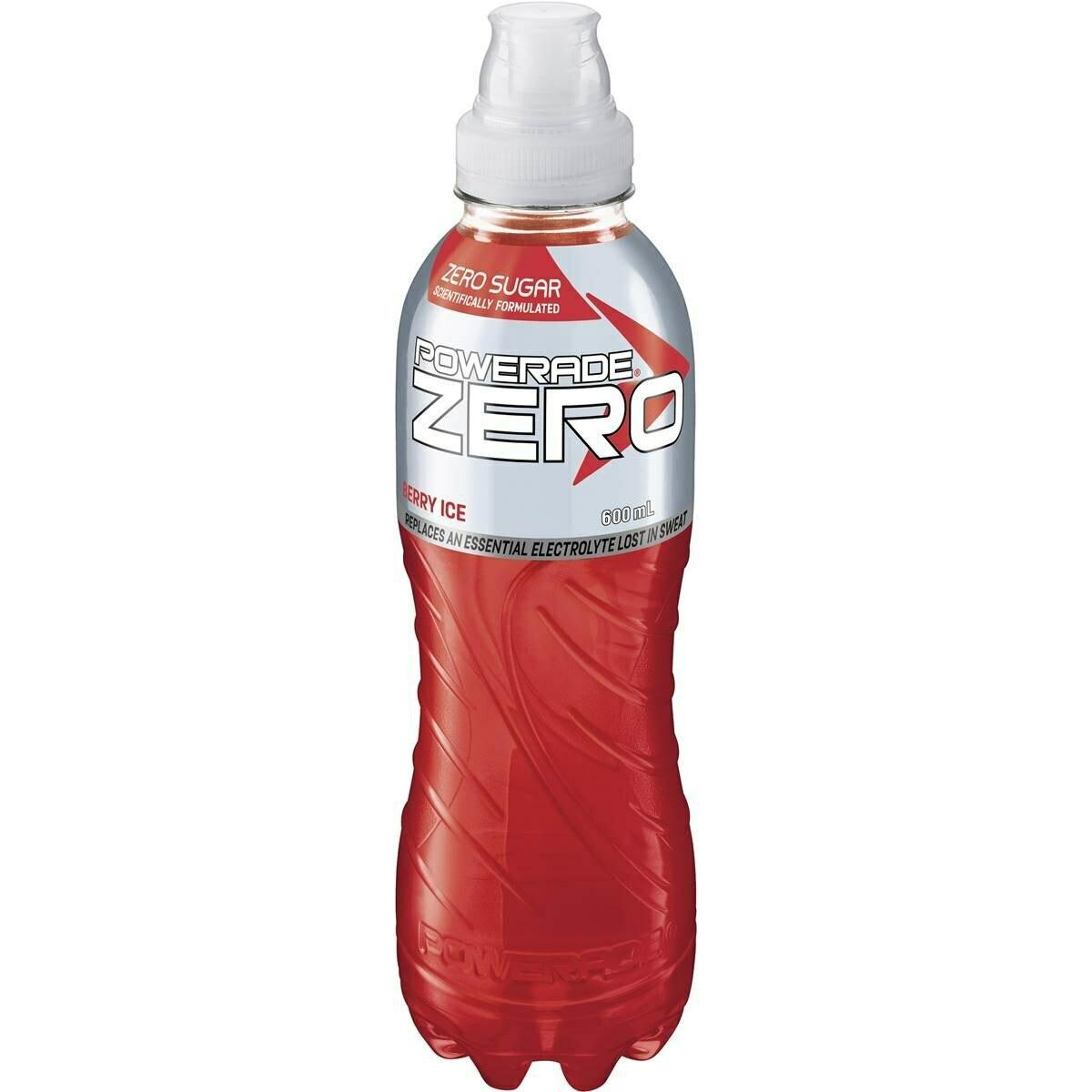 Powerade Zero Berry Ice 600ML