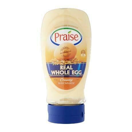 Praise Real Whole Egg Mayo 335G