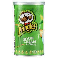 Pringles Sour Cream & Onion 53G