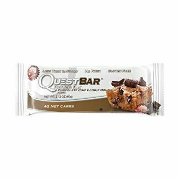 Quest Bar Choc Chip Cookie Dough
