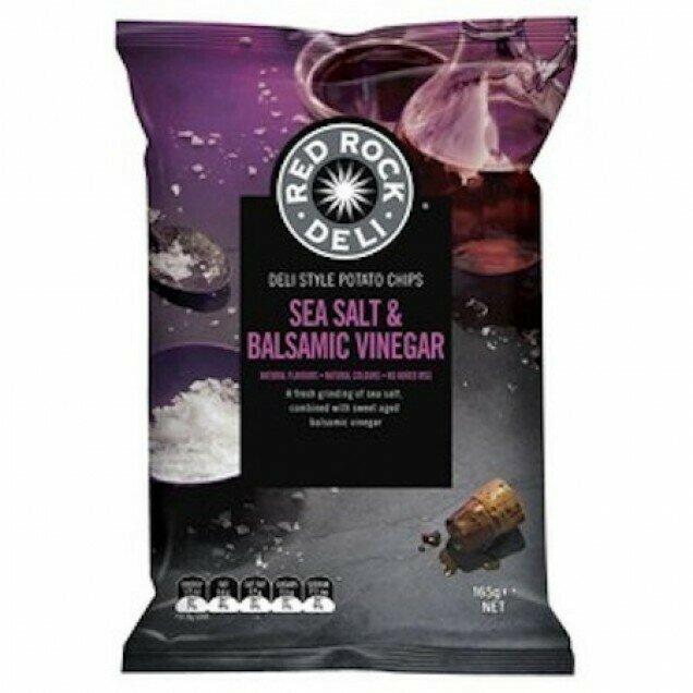 Red Rock Salt & Vinegar 90G