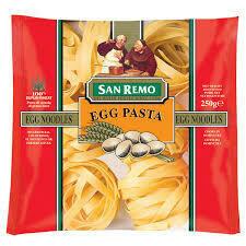San Remo Egg Pasta 250g