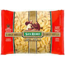 San Remo Large Shells 500 G