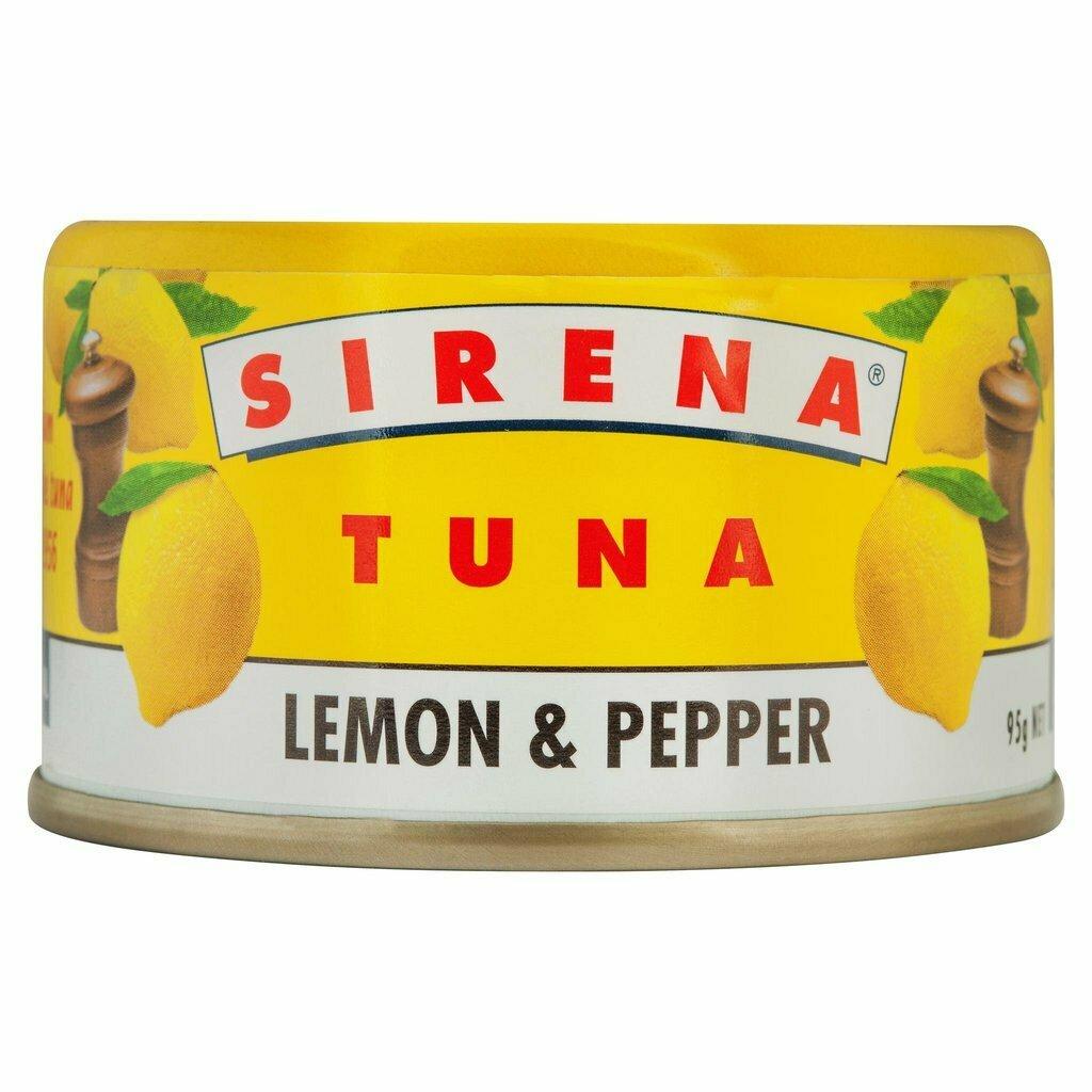 Sirena Tuna Lemon & Pepper 95g