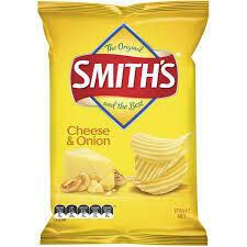 Smiths Cheese & Onion 170G