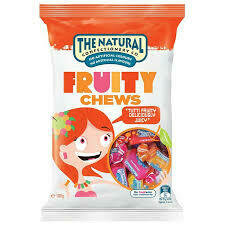 Natural Confectionary Fruit Chews 180g