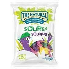 Natural Confectionary Squirm 180g