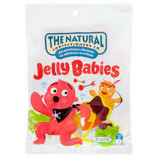 Natural Confectionary Jelly Babies 260g
