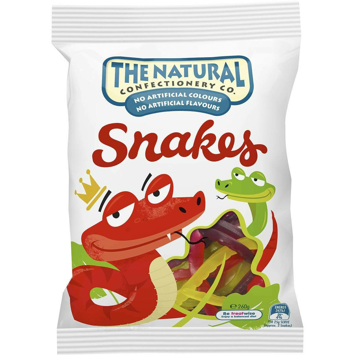The Natural Snakes 260g