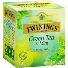 Twinings Green Tea & Mint 20G