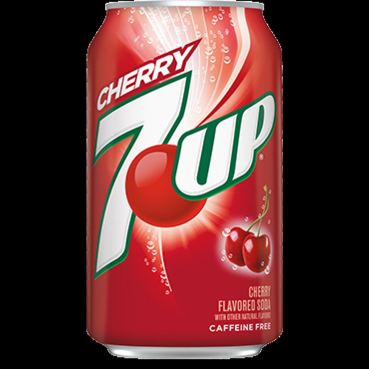 7Up Cherry 375ml