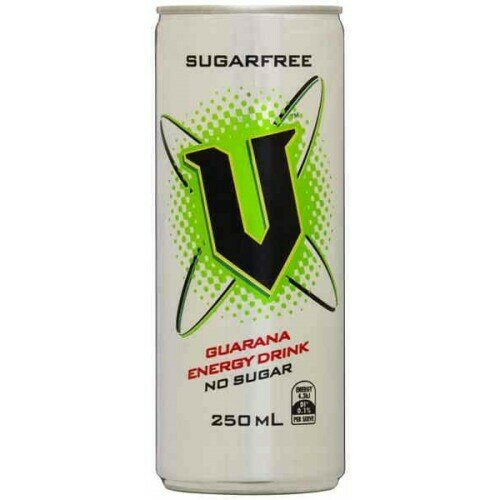V Energy Drink Sugar Free 250ML