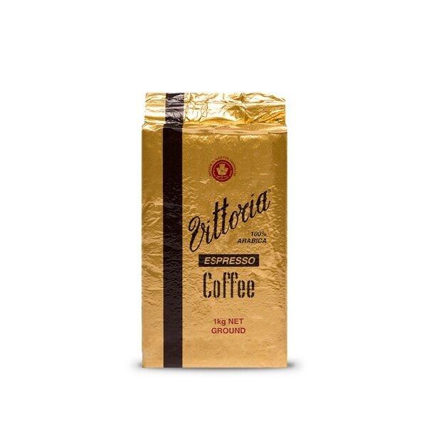 Vittoria Coffee Decaffeinated Ground Coffee Espresso 200g