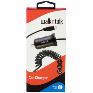Walk & Talk Car Charger Dual Usb
