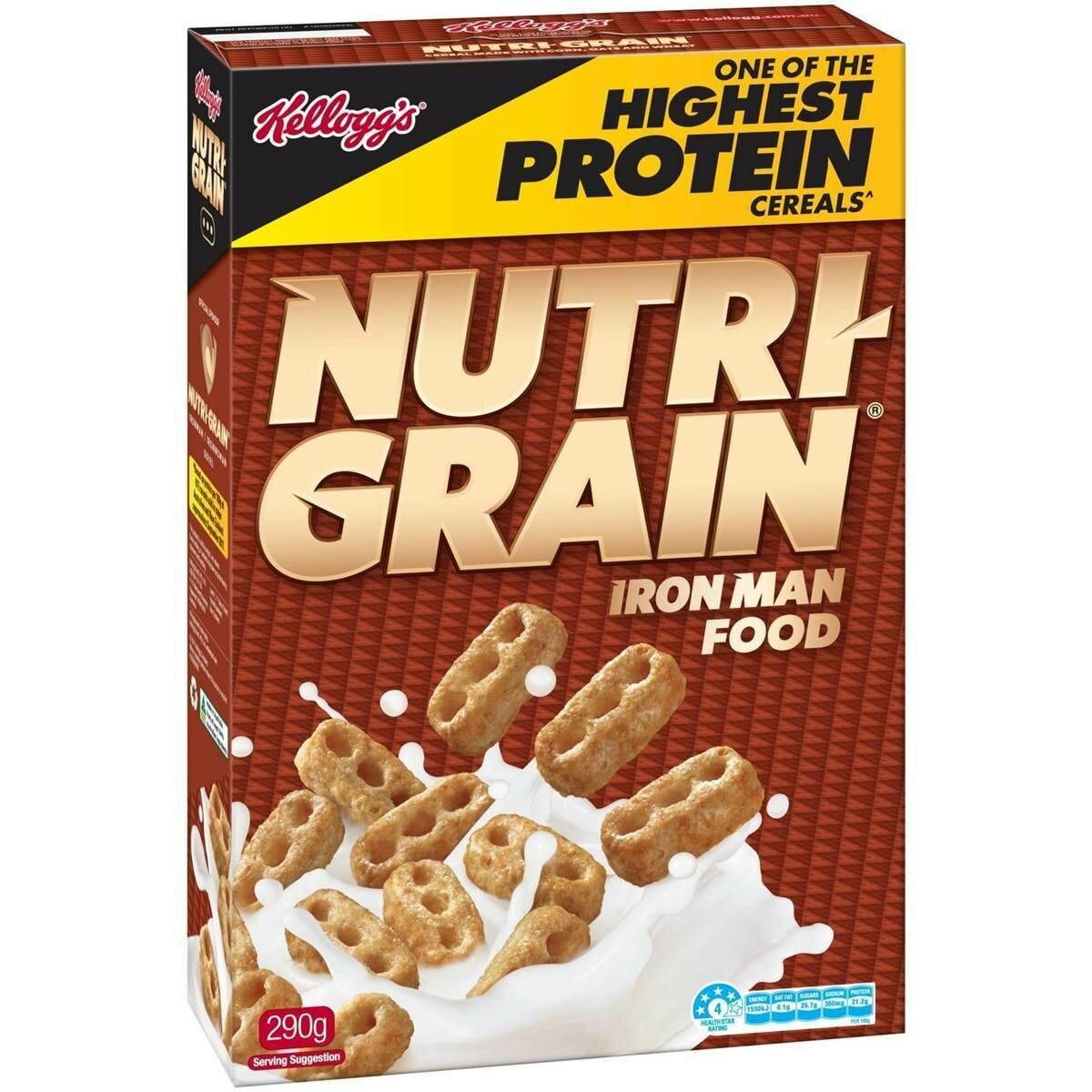 Kelloggs Nutri Grain 290g