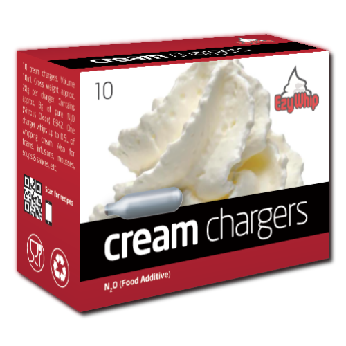 Cream Chargers 10 Pack