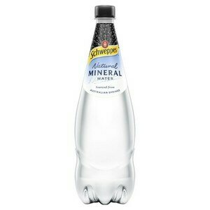 Schweppes Natural Mineral Water 1.1l