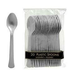 Plastic Spoons 20pk