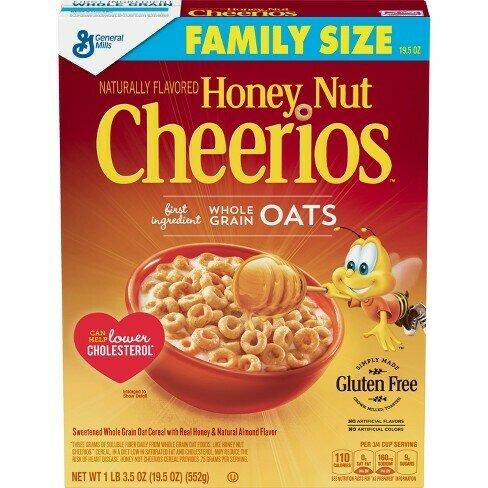 Honey Nut Cheerios 350g