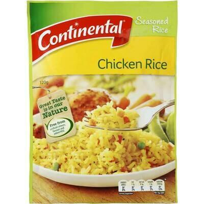 Continental Chicken Rice 120g