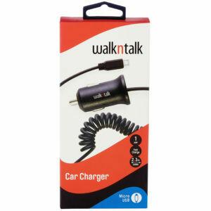 Walk & Talk Car Charger Dual Usb