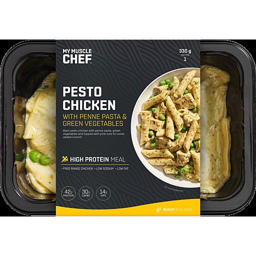 Muscle Chef Pesto Chicken