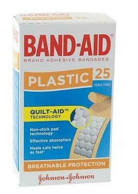 Band-Aid Plastic 25pk