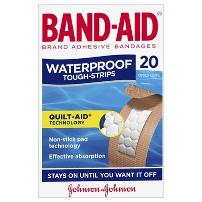 Band-Aid WaterProof 20pk