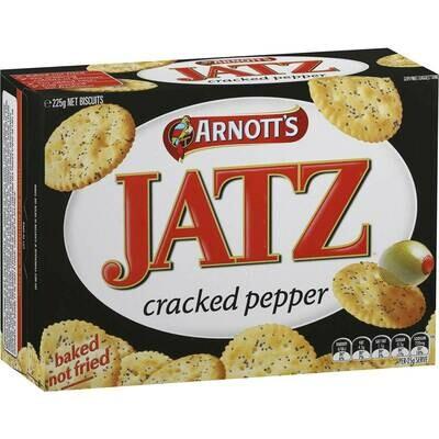 Arnotts Jatz Cracked Pepper 225g