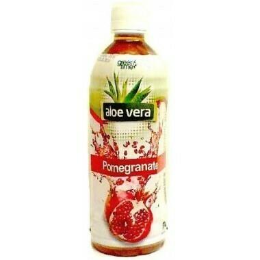 Green Time Aloe Vera Pomegranate 490ML
