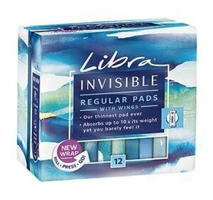 Libra Invisible Regular 12pk