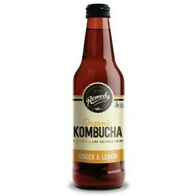 Kombucha Ginger & Lemon 330ML
