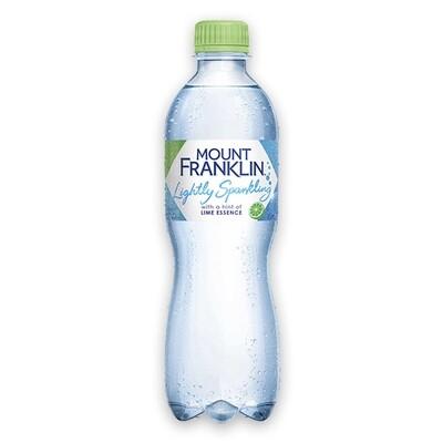 Mount Franklin Sparkling Lime 450ML