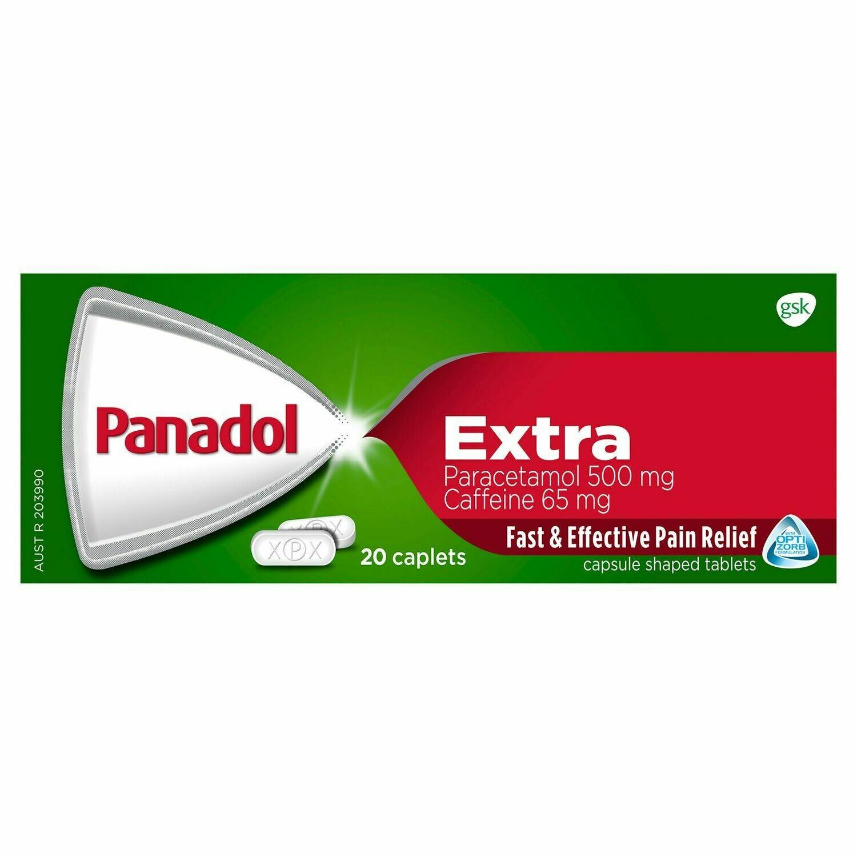 Panadol Extra Caplets 20PK