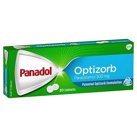 Panadol Optizorb 12 Tablets