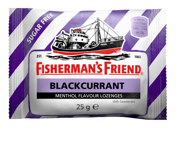 Fishermans Friend Blackcurrant