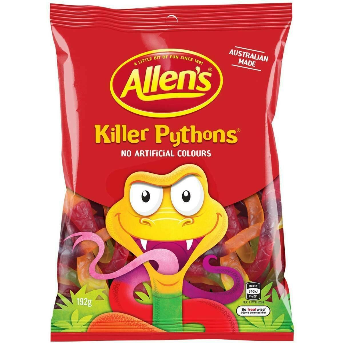 Allens Killer Python