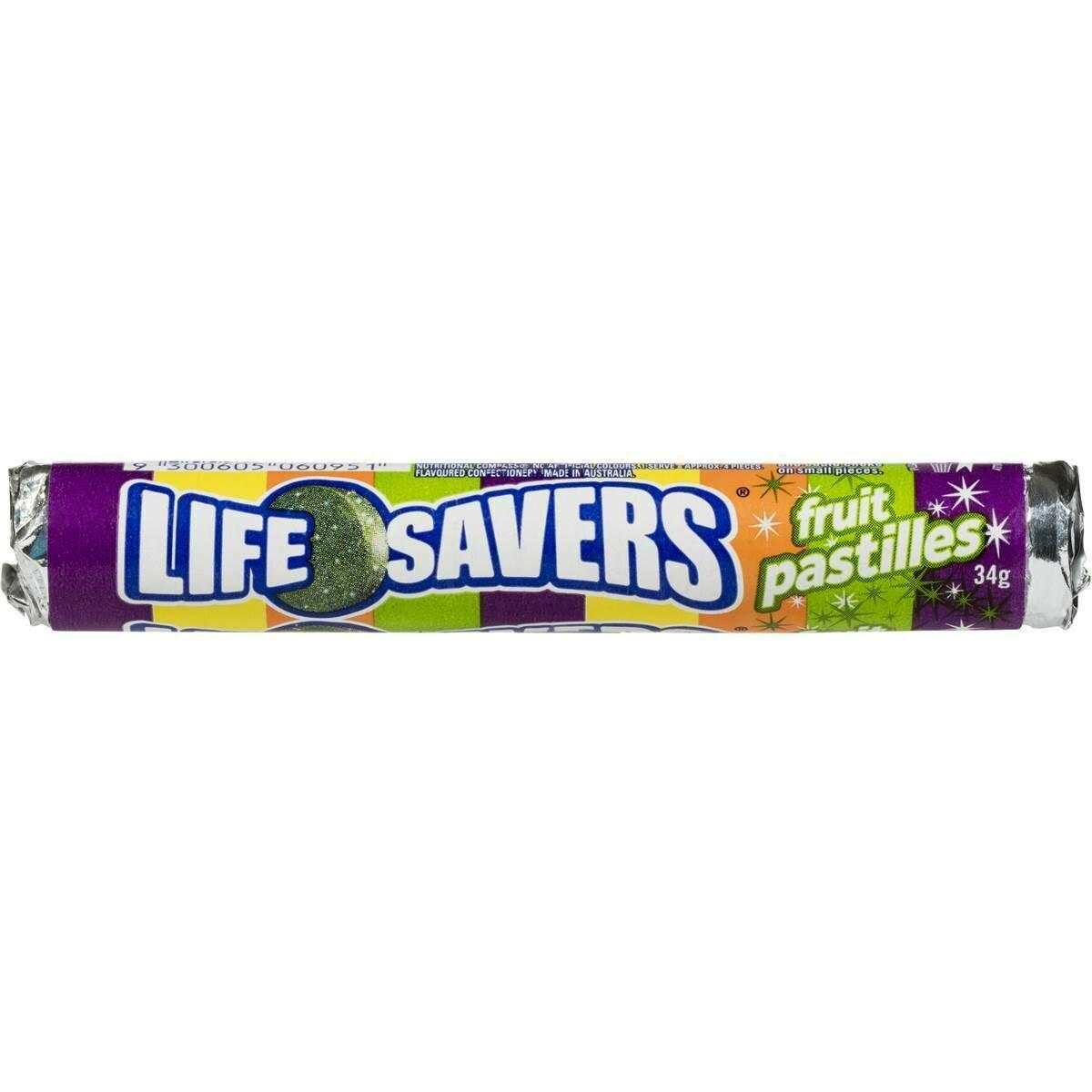 Lifesavers Fruit Pastels 34G