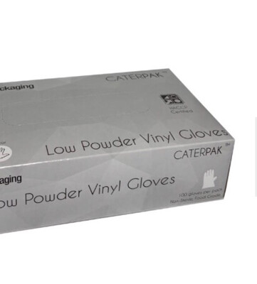 100 Pcs Gloves Powder Free
